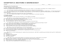 constitution worksheet free worksheets library download and