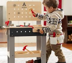 Toddler Tool Benches - personalized woodwork bench pottery barn kids