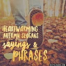 catchy autumn slogans taglines mottos business names ideas 2018