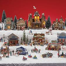 Christmas Town Decorations Christmas Decorations Kmart