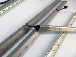 downlighter led light kit mkiii for the ikea detolf cabinet the