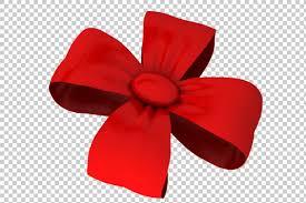 christmas ribbon bows bow clipart no background