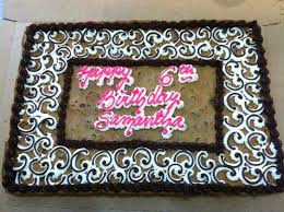 birthday cookie cake cookie cake designs search cookie cakes