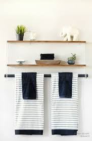 Wooden Shelves For Bathroom Appealing Ideas For Bathroom Shelves Design Home Furniture