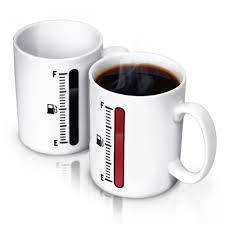 Cool Coffee Mug by Full Tank Fuel Gauge Magic Coffee Mug Cool Gift For Dad U2013 Zaczoo