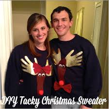 Diy Ugly Christmas Sweater Party Decorations by 15 Do It Yourself Ugly Christmas Sweaters Oh My Creative
