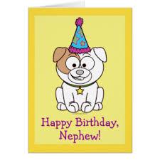 happy birthday nephew greeting cards zazzle co uk