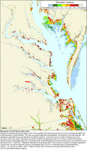Maps Virginia by More Sea Level Rise Maps For Virginia