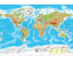 Map Of United States Physical Features by Economy Intermediate U S U0026 World Physical Classroom Map
