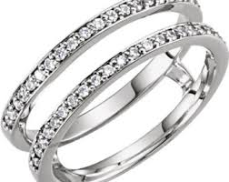wedding ring jackets ring guards spacers etsy