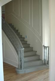 Best Paint For Stair Banisters How I Painted My Stairs Little Green Notebook