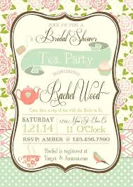 bridal shower tea party tea party baby shower invitations ryanbradley co