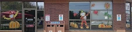 melani pyke work zoom fall thanksgiving window painting