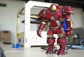 3d designer designer 3d prints hulkbuster figure 3dprint