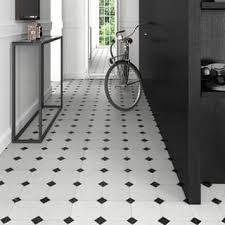 Black And White Ceramic Floor Tile Black Tile For Less Overstock Com