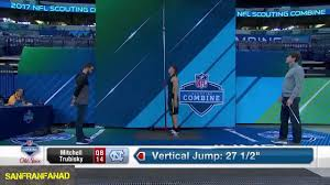 mitch trubisky 2017 nfl combine 40 yard dash all drills nfl