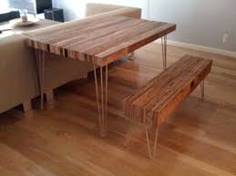 Diy Wooden Table Top by How To Make A Reclaimed Wood Table And Bench U2014 Most Popular Posts
