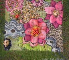 free motion background quilting for halloween quilts quilt inspiration october 2014