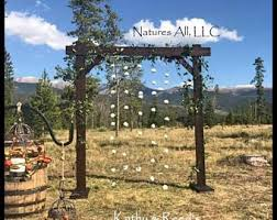 wedding arbor kits wedding arch etsy