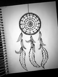 easy dreamcatcher drawing with quote google search learn to