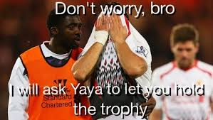 Kolo Toure Memes - my thoughts after seeing kolo touré consoling suarez last night funny