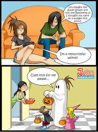 Funny Comics Memes - halloween