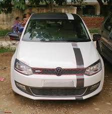 volkswagen polo black modified pics tastefully modified cars in india page 89 team bhp
