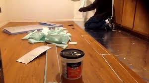 Underlayment For Laminate Flooring Installation How To Install Vinyl Plank Flooring On Top Underlayment Youtube