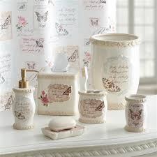 butterfly moments bath collection croscill