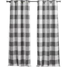Country Plaid Curtains Check U0026 Plaid French Country U0026 Cottage Curtains U0026 Drapes You U0027ll