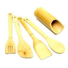 ustensile de cuisine en l ustensile de cuisine en bois ustensil de cuisine 5 pcs ensemble