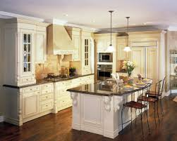 woodwork designs for kitchen black varnished wooden island white