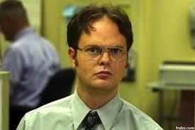 Dwight Meme Generator - dwight schrute false the office meme generator captionator