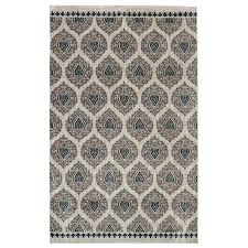 Blue And White Area Rugs Shop Mohawk Home Bethania Blue Indoor Area Rug Common 8 X 10