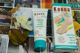 Salep Kana 2 produk kanna foot untuk mengatasi tumit kaki pecah pecah