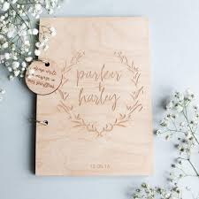 engraved guest book engraved wedding guest book engraved guest book name wedding