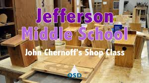jefferson middle shop class youtube