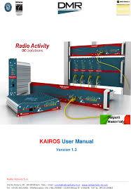ka160 vhf base station user manual enb52 kairos 1v3 radio