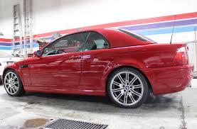 red bmw e46 2004 bmw e46 m3 smg cabriolet hardtop calgary u0027s independent bmw
