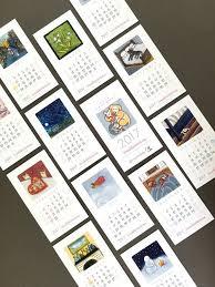 mini desk calendar 2017 sale 2017 mini desk calendar with stand by bernadetteartwork art