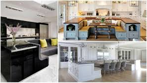 Kitchen Islands With Posts Kitchen Island With Built In Seating Kitchen Idea
