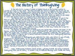 thanksgiving history and quiz it all