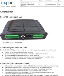 cpac1054 charging interface control unit user manual