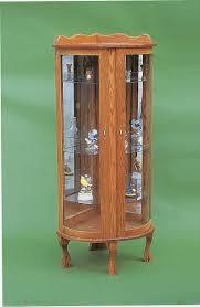 how to arrange a corner china cabinet amish corner curio cabinet