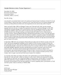 recommendation lettersample coworker recommendation letter sample
