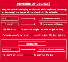 adverb of degree definition list u0026 examples english
