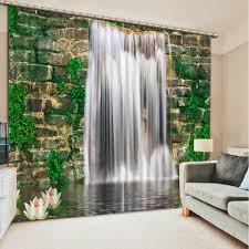 Floral Waterfall Window 1 Piece Online Get Cheap 3d Curtains Aliexpress Com Alibaba Group