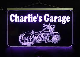 Man Cave Led Lighting by Harley Davidson Led Hanging Sign