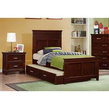 skylar cherry bedroom bed dresser u0026 mirror twin 25074