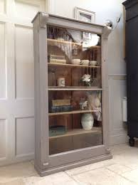 kitchen design ideas display cabinet antique gray display